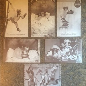 Other - Cute Monkey Heavy Card-Stock Post Card Pictures